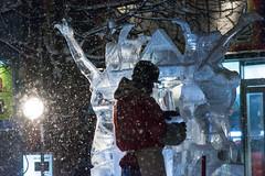 夢を乗せて (kumakichi) Tags: winter jp 北海道 日本 冬 f50 iso1250 170mm 旭川市 氷彫刻 ss1250