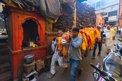 Ram Naam Satya Hai (The name of Ram is truth) (ayashok photography) Tags: ayp1511 varanasi deadbody manikarnikaghat cwc 506  travel cwc506 chennaiweekendclickers india indian bharath desi desh barat barath bharat asia asian tokina1735mm