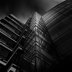 """Mélange"" - Architectural Fantasy #8 (josesuro) Tags: longexposure bw architecture digital florida clearwater 2016 afsnikkor28mmf18g jaspcphotography nikond750"