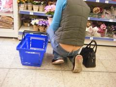 milf in action-markt (sqfan07) Tags: ass jeans buttcrack milf asscrack