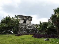 "Les ruines mayas de Tulum <a style=""margin-left:10px; font-size:0.8em;"" href=""http://www.flickr.com/photos/127723101@N04/25448978914/"" target=""_blank"">@flickr</a>"