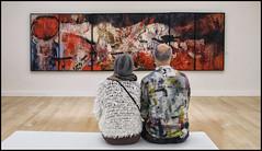La Guerre Japonaise (Explore) (Bert Kaufmann) Tags: art netherlands museum painting kunst nederland schilderij olanda zwolle niederlande jancremer museumdefundatie payspas vijfluik defundatie laguerrejaponaise
