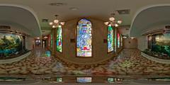 Precious Moments Chapel - Carthage, MO (@TanjaB) Tags: stainedglass vr preciousmoments carthagemo equirectangular preciousmomentschapel sambutcher 360photography roundme