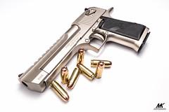 Desert Eagle .50AE - Satin Nickel (10 Gauge) Tags: pistols firearms handguns deserteagle handcannon 50ae