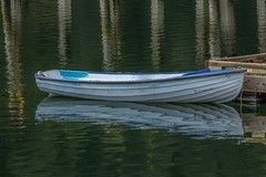 Dingy (photobydave@gmail.com) Tags: park boat britishcolumbia victoria vancouverisland pacificnorthwest butchartgardens brentwood dingy gowllandtod todinlet reflectionsocean