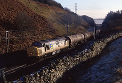 Sunlight and Shadows (Dave McDigital) Tags: 37 petroleum shap class37 trainload 37884