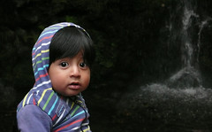 boy at Cariacu waterfall (xtremepeaks) Tags: waterfall cayambe ecuador kid boy f64g75r2win cariacu cascada portrait challengeyouwinner child cy2