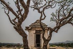 Hampi (Jackson Pollard) Tags: portrait india white black rock landscape ancient ruins asia religion palace queens boulders kings karnataka royalty hindi formations hampi