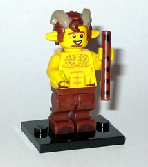 71011 7 faun minifigure lego series 15 minifigures 2016 (tjparkside) Tags: man hair lego legs 7 goat 15 mini flute seven figure instrument beast series piccolo hoof creature figures myth faun fifteen mythical minifigure hooves 2016 minifigures 71011
