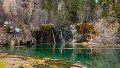 Beautiful Hanging Lake (Robby Armentano) Tags: road trip lake mountains southwest green robert water rock gardens spring colorado break natural zoom parks rocky olympus hike rob clear trail national american pro hanging 16 mm robby sprouting em1 2016 1240 armentano