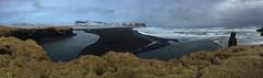 Reynisfjara Beach Iceland (Hobbit in shorts) Tags: black ice beach nature landscape iceland seaside cool sand south vik pebble shore ash vulcano iphone reynisfjara dyrholaey reynisfjall mydral vesturskaftafellsssla nontropical skaftafellssysia