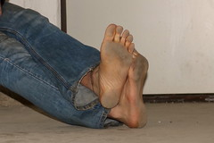dirty party feet 529 (dirtyfeet6811) Tags: feet barefoot soles filthyfeet filthysoles