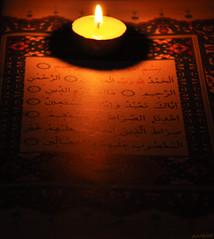 (gLySuNfLoWeR) Tags: light night happy candle muslim islam happiness read mum sure allah quran  iman oku ikra fatiha kuran iqra mutluluk ayet okumak mslman islamiyet
