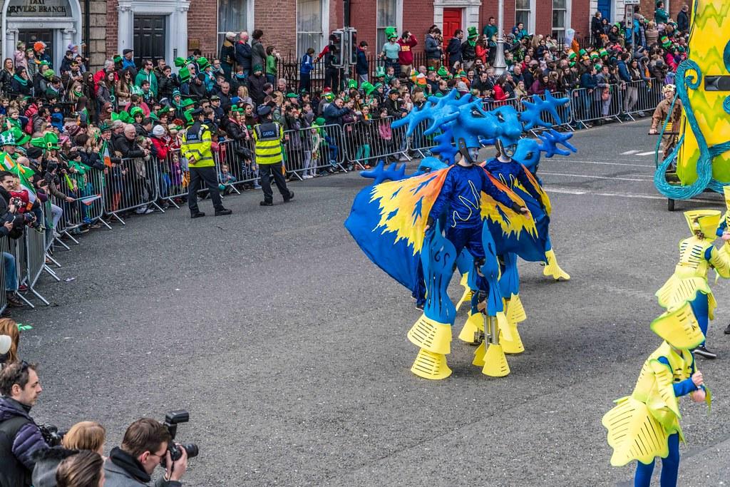 Dowtcha Puppet's At The St.Patrick's Parade [Dublin 2016]-112501