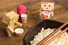Ramen (12/52) (abneysc) Tags: life dinner toys soup secret ramen domo chopsticks noodles domokun danbo danboard domoqee