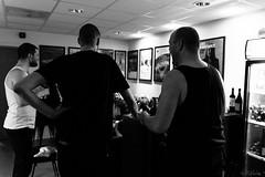 Band celebrating in backstage. (RiNulo) Tags: lighting norway canon concert sigma rap backstage concertphotography halden diem karpe karpediem