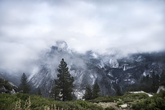 Foggy Yosemite (Sarah Yard Photography) Tags: california park travel usa mist travelling weather fog america point landscape waterfall nationalpark nebel view cloudy nps foggy glacier yosemite