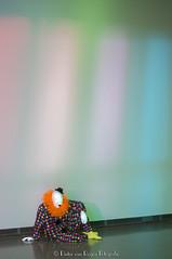 Ugo Rondinone Vocabulary of Solitude 4. (PvRFotografie) Tags: holland museum 50mm clown nederland clowns nex boijmansvanbeuningen ugorondinone minoltamdrokkor50mmf14 sonynex nex6 vocabularyofsolitude