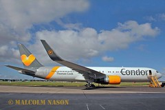 B767-330ER D-ABUZ CONDOR (shanairpic) Tags: shannon condor thomascook boeing767 b767 jetairliner dabuz eirtech