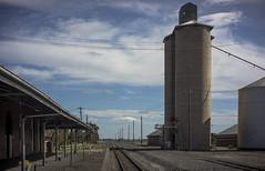 silo, Serviceton (thoughtfactory) Tags: architecture digital rural imac victoria railwaystation silos phototrip scoping westernhighway leicasummicron35mmf20asph garysauerthompson novoflexadaptor lightroom5 sonynex7