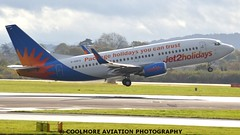 2014_10_25_MAN0112 (COOLMORE PHOTOGRAPHY) Tags: man manchester airport aircraft boeing airliner airliners 737 manchesterairport b737 jet2 egcc b7373 boeing7373 ggdfo