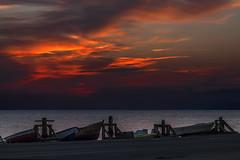 Barcas en las salinas (II) (Salvador Ruiz Gmez) Tags: mar andaluca playa barcas almera mediterrneo parquenaturalcabodegatanjar sanmigueldecabodegata