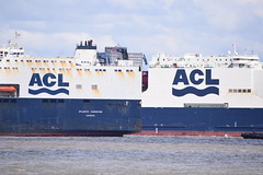 New and Old for ACL (Gareth Garbutt) Tags: acl rivermersey atlanticstar atlanticcontainerline atlanticconveyor