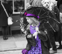 Purple Girl (kellyhackney1) Tags: girl umbrella purple candid yorkshire streetphotography dressup whitby littlegirl piccy candidphotography whitbygothweekend purplegirl gothweekent