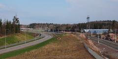 2016 Bike 180: Day 97,  April 30 (olmofin) Tags: road bicycle finland track path tie vantaa rata polkupyr trin pyrtie bicyce junarata 2016bike180