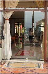 "me at the ""Les Mrinides"" (mhobl) Tags: door me hotel maroc fes lesmrinides"