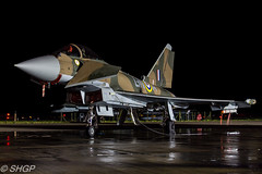 Typhoon FGR4, Battle of Britain Special 'GiNA', RAF Coningsby (SHGP) Tags: blue light night plane canon airplane fighter force britain outdoor euro aircraft air jet royal fast battle gina 11 special eurofighter vehicle t3 shelter typhoon raf signa jest coningsby as 700d fgr4 18299mm