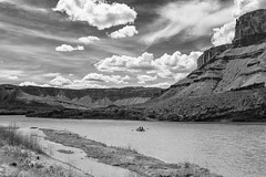 The Colorado River (dshoning) Tags: water clouds rafting coloradoriver buttes hmbt