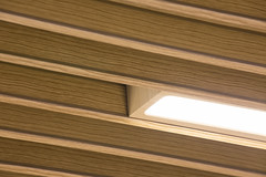 Ceiling Metal Print (Hunter Douglas Architectural) Tags: wood up architecture close v100 interior ceiling architectural inspirational printed ceilings aluminium architectuur inspiratie architekten hunterdouglas