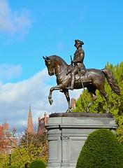 General (tommyleonard777) Tags: history boston washington statues bostoncommon