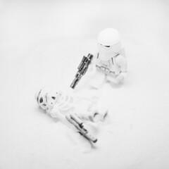 Not Properly Equipped (kentonanderson) Tags: toy photography star starwars lego stormtrooper wars legostarwars snowtrooper