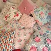 Cushion love (patchwork and lace) Tags: patchworkandlace handmade patchwork cathkidston shabbychic