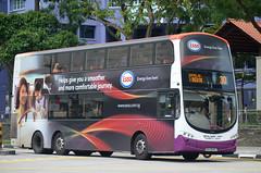 SBS Transit Volvo B9TL Wright Eclipse Gemini II (nighteye) Tags: bus eclipse volvo singapore wright esso sbstransit b9tl geminiii eurov service30 weg2  energyliveshere sbs3698t
