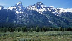 Wyoming - Grand Teton National Park  1978 (bigjohn1941) Tags: park kodak grand slide national wyoming teton ektachrome