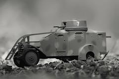 Lancia Ansaldo 1ZM - 1939 (lumun2012) Tags: bw macro monocromo war military models guerra tamron biancoenero lucio militaria monocrome veicoli veicles mundula