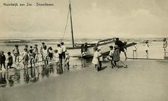 1057 - PC Noordwijk ZH (Steenvoorde Leen - 2.1 ml views) Tags: history strand boulevard postcards noordwijk kust ansichtkaart noordwijkaanzee badplaats oldcards oudnoordwijk
