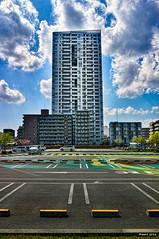 - Vacancies (uemii2010) Tags: cloud japan architecture parking kanagawa kawasaki lazona cooljapan sigmadp1merrill