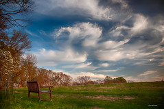 Dragons and Angels -    (Igor Danilov) Tags: sunset bench one iso200 mixed nikon alone view walk joy dream imagine imagination feelings 1100 18mm f35 flashon d90