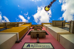 High Hope (Florida Architecture) (rmehdee) Tags: city blue sky house building colors beauty architecture clouds hope high downtown florida perspective bluesky domicile residences cityplace highhope