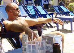 IMG_0885 (danimaniacs) Tags: shirtless man sexy guy beard mexico muscle muscular hunk puertovallarta stud scruff mansolo