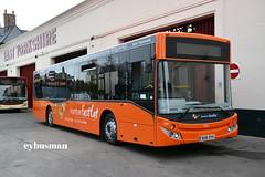 East Yorkshire 395, BU16OYH. (EYBusman) Tags: road new bus cat volvo coach yorkshire fast evolution east 350 depot motor hull brand services scunthorpe humber fastcat mcv anlaby eyms eybusman b8rle bu16oyh