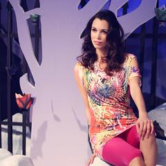 Posing at Photoshow Milan 2013 (Cristina Tiurean Photography) Tags: portrait woman beautiful beauty fashion canon glamour vogue
