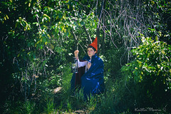 _MG_1569 (Dun By Kaitlin) Tags: green nature wall garden woods cosplay over lantern wirt