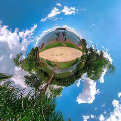 na beira (Caio Capela) Tags: panoramic 360x180 palmas stereographic littleplanet panosphere nikond5100