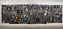 This is an exhibit currently in New York by Penelope Umbrico...One of my moon shots is in there somewhere (Sue90ca Flick*r Is Flick*ring Again) Tags: newyork penelopeumbrico