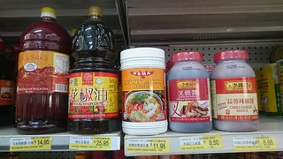 Restaurant-sized sauces - Wing Cheong Supermarket, Melbourne